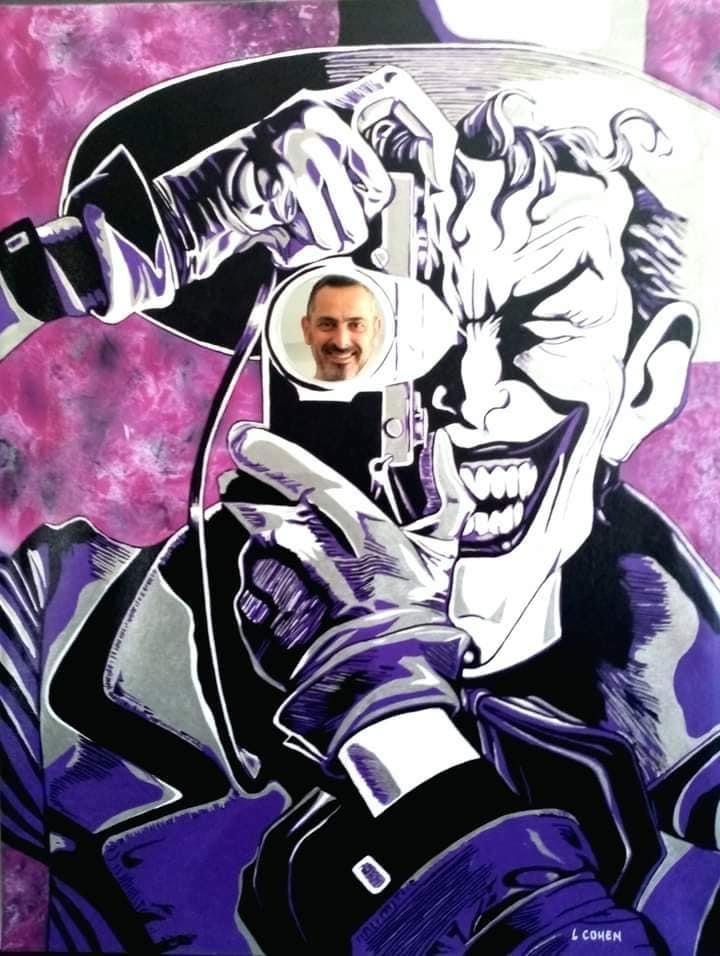 Joker by LIONEL.COHEN